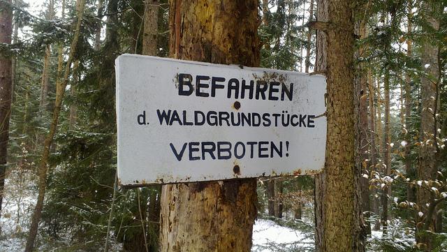 hollenthon-befahren-verboten