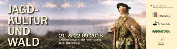 Jagdkultur und Wald - Einladung Forst&Kultur-Tagung Forchtenstein