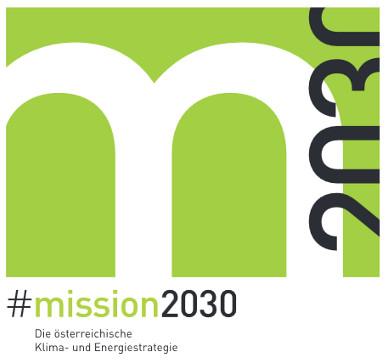 Titelblatt Mission 2030 Klima- und Energiestrategie