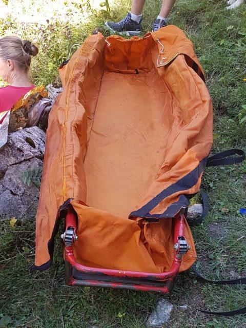Outdoor-Erste-Hilfe-Kurs: Vakuummatte