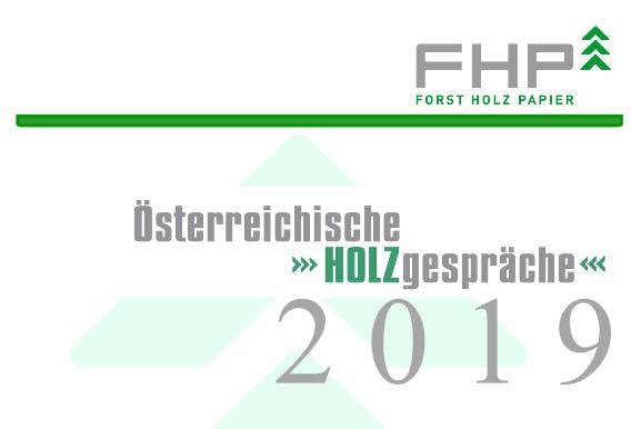 Logo der Einladung Österreichische Holzgespräche