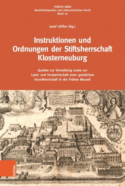 Buchcover Loeffler Instruktionen Klosterneuburg